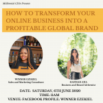 HOW TO TRANSFORM YOUR ONLINE BUSINESS INTO A PROFITABLE GLOBAL BRAND